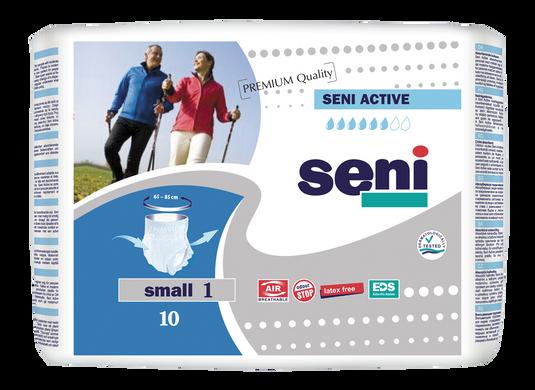 Поглинаючі труси-підгузники для дорослих SENI Active 1 SMALL 10 шт. Air e54822e9301cd