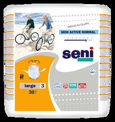 Впитывающие трусы-подгузники для взрослых SENI Active Normal 3 LARGE 30 шт. a616dc005f2