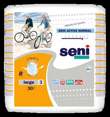 Поглинаючі труси-підгузники для дорослих SENI Active Normal 3 LARGE 30 шт. bf075d31f1a79